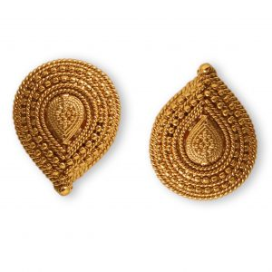 Antique Gold platted tops