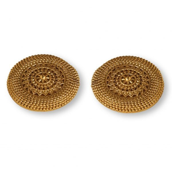 Antique gold platted earrings