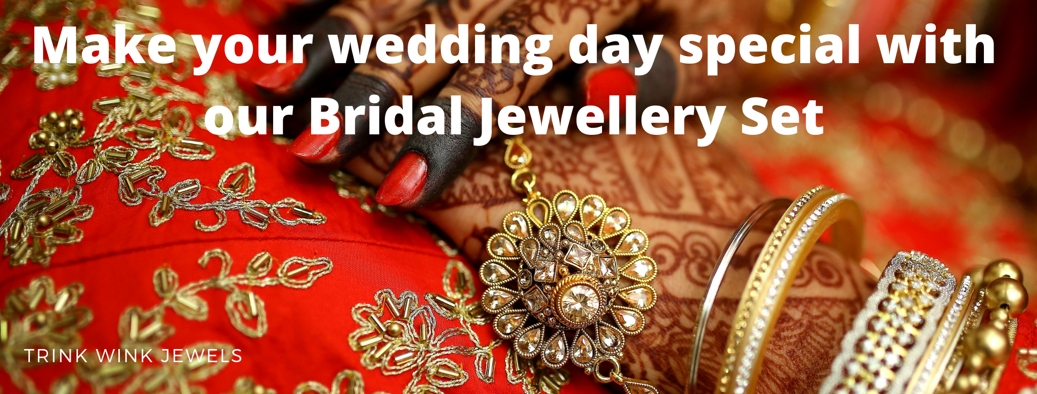 Make your wedding day special with our Bridal Jewellery Set