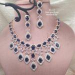 Rosegold Plated Necklace Set
