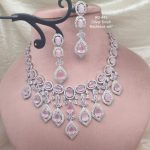 Silver Plated Necklace Set