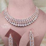 White Stone AD Necklace
