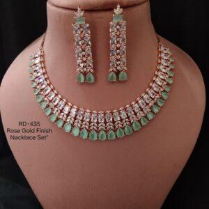 Mint AD Necklace Set