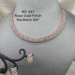 AD Chokar Necklace Set