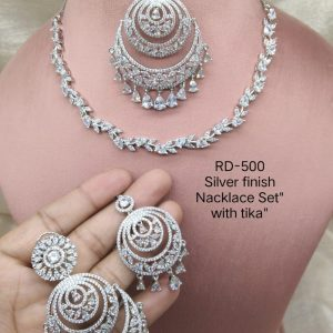 AD Necklace With Tika