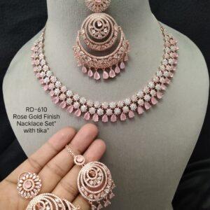 AD Bridal Necklace Set