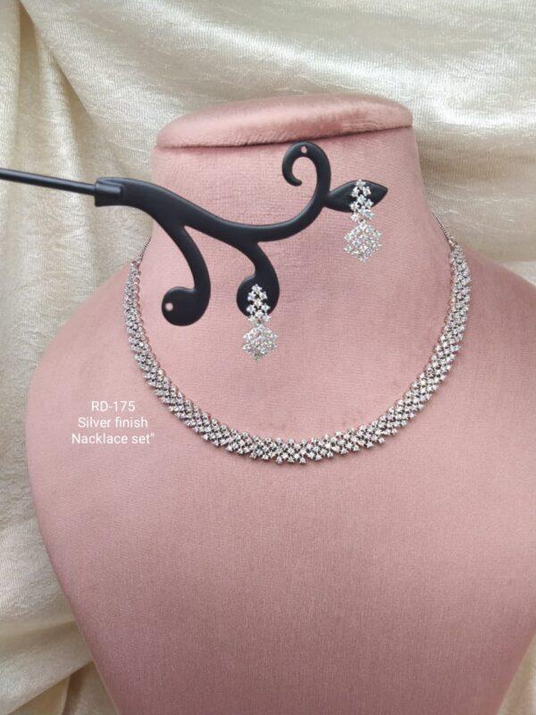 Simple Design AD Necklace