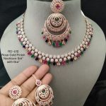 Colourful AD Necklace Set