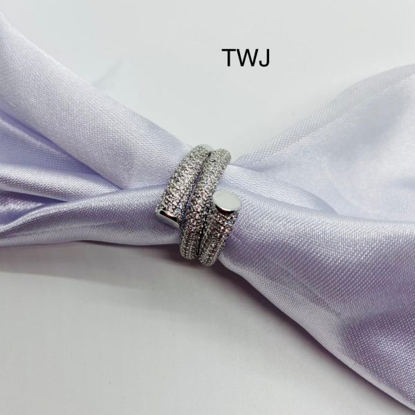 Designer Silver AD Ring
