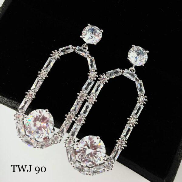 AD Designer Hanging Earrings
