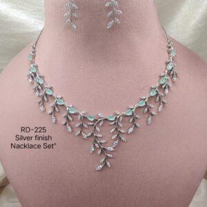 Designer Mint Leaf Necklace