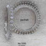 Silver Pacheli Bangle