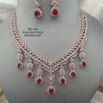 RoseGold Finish Necklace