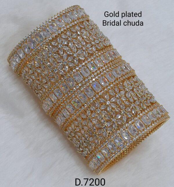 Gold Plated Bridal Chuda