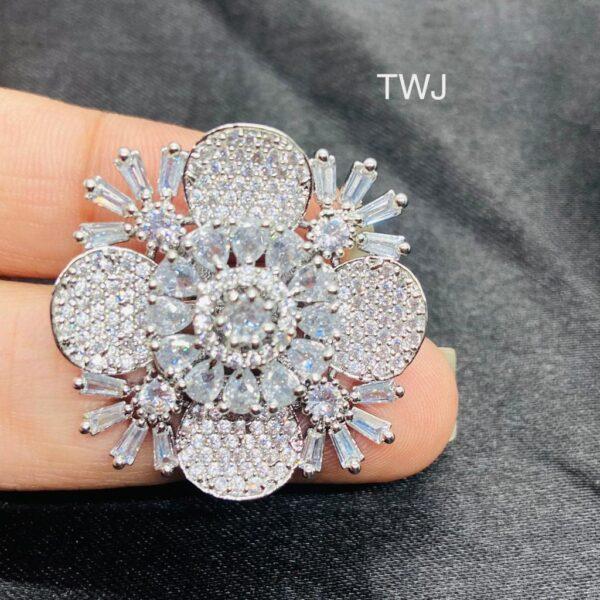 Designer Flower Ring