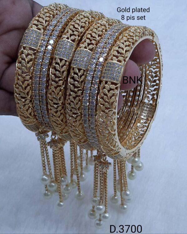 Designer Gold Plated Bangle