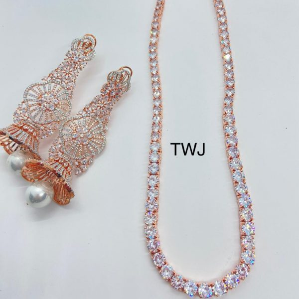 AD Long Necklace