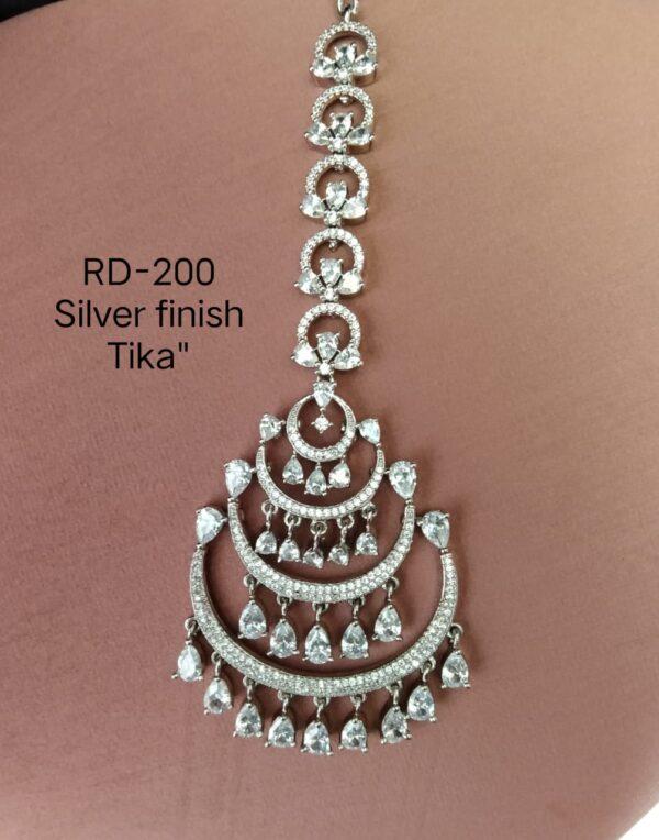 Silver Hanging AD Tikka