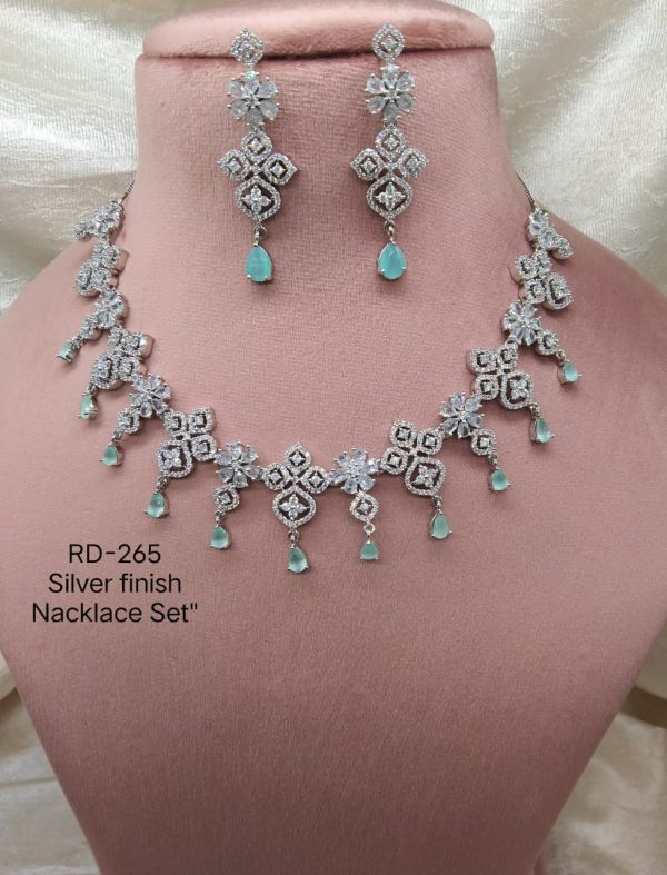 AD Stone Studded Necklace
