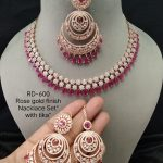Pink & White Necklace