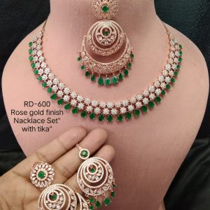 Green & White Necklace