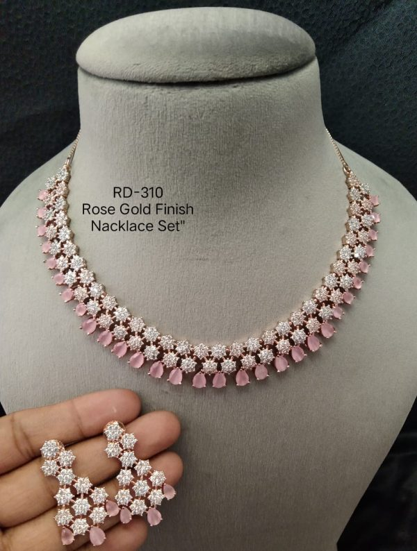 AD Rose Gold Necklace