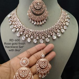 White Necklace With Tika