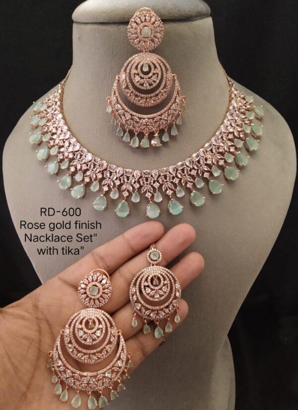 American Diamond Jewellery SetAD Jewellery Set