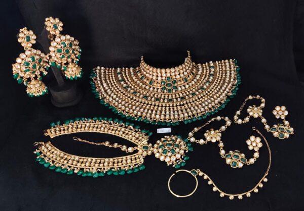 AC Kundan Bridal Set