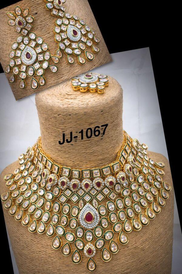 Panchi Kundan Bridal Choker