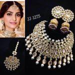 Celebrity Bridal Kundan Set