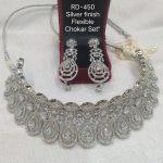 Beautiful Silver AD choker