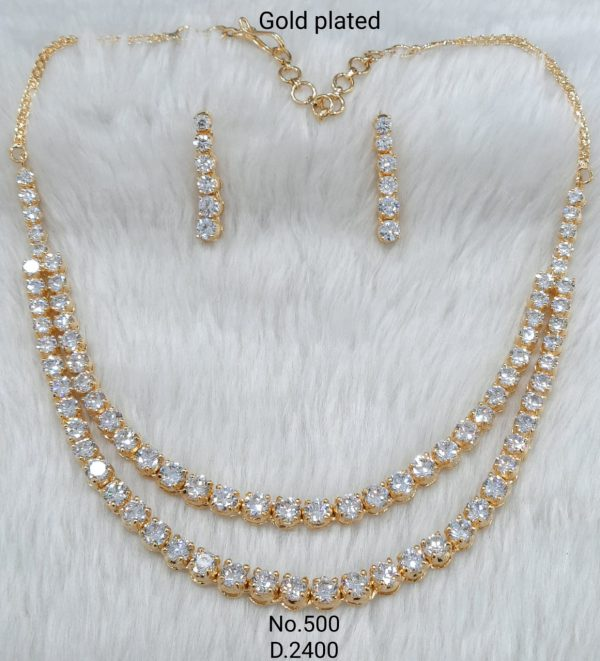 Double String AD Necklace