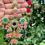 Indo Western Chandelier Earrings